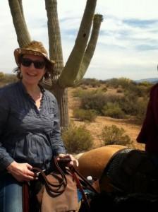 Pour faire un tour à cheval dans le désert